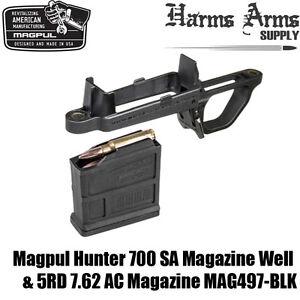 Details about MAGPUL HUNTER 700 Magazine Mag Well & 7 62 AC Mag AICS  Remington SA MAG497-BLK