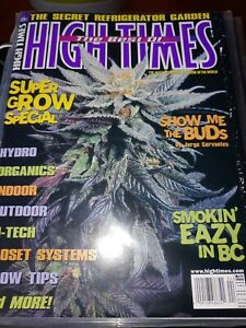 High-Times-Magazine-Best-of-Issues-Ultra-pro-protective-Lot-of-15-mags