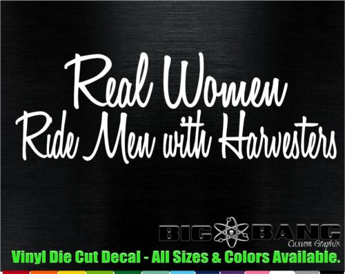 REAL Women//International Harvester*s Funny FARM BOY Vinyl Die Cut Decal//Sticker