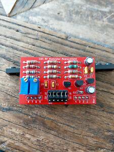 1xPCS-C64-Commodore-64-RF-modulator-replacement-PCB-in-red