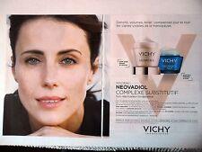 PUBLICITE-ADVERTISING :  VICHY Neovadiol [2pages] 2015 Cosmétique
