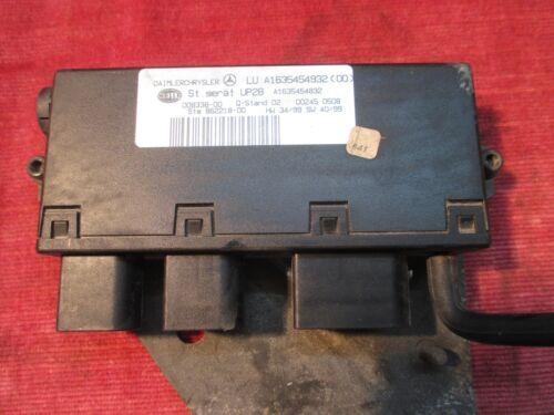Mercedes M-Klasse ML W163 Valuumpumpe Steuergerät UP28 A1635454932 A1635454832