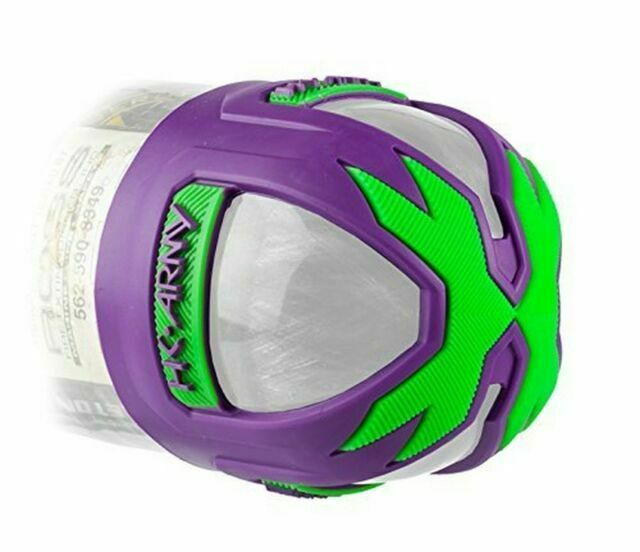 HK Army Vice Tank Grip 2.0 Purple Neon Green Butt Cover for Paintball Tanks for sale online