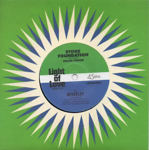 STONE-FOUNDATION-Ft-NOLAN-PORTER-Beverley-Pushing-Your-Love-NEW-MODERN-SOUL-45
