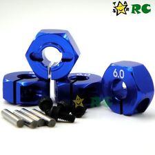 RC 6mm Aluminum Wheel Hub Clamp Type Fit 1/10 Hex 12mm Rims Wheels car upgrade
