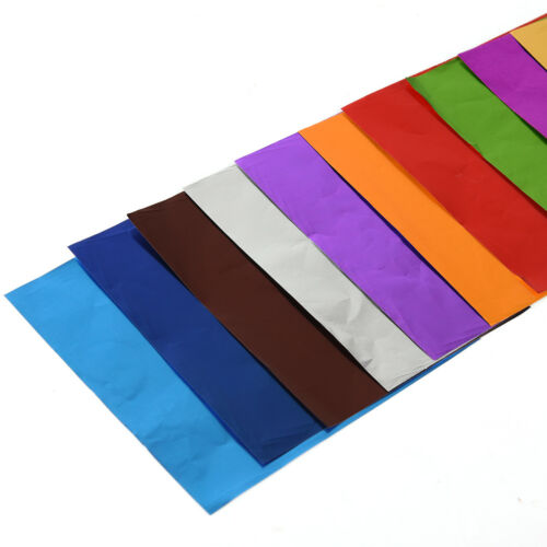 10 x 10 cm DIY Foil Candy Chocolate Wrapper Aluminum Candy DIY Package Paper HC