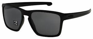 Oakley Sliver XL Sunglasses OO9341-0157 Matte Black | Grey Polarized Lens