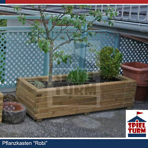 hoq pflanzkasten 120x50x40 cm rechteckig pflanztrog pflanzk bel aus holz bambus 4260315410482 ebay. Black Bedroom Furniture Sets. Home Design Ideas