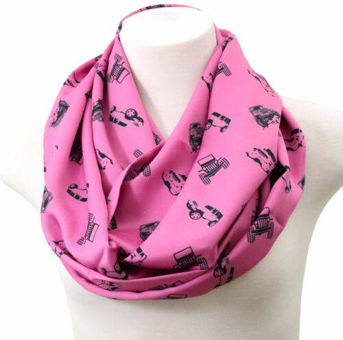 Jeep scarf wrangler gift birthday gift for jeep girl rubicon fans CJ7 pink parts