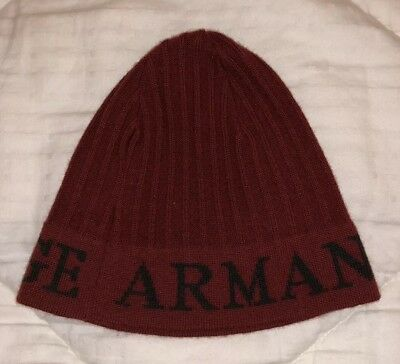 9a41dd83915 ARMANI EXCHANGE A X AX BEANIE HAT Skull Cap Vintage RARE One Size Fits All