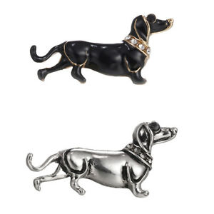 Dachshund-Dog-Brooch-Animal-Collar-Lapel-Pin-Lovely-Badge-Women-Men-Kid-Jewelry