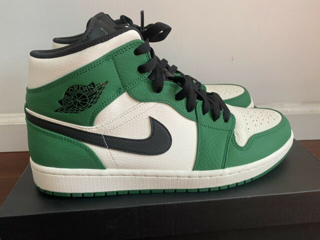 Nike Air Jordan 1 Mid SE Pine Green US Men Size 11