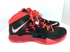 online store 33305 107c6 Nike Zoom Soldier Vii Lebron James 609679-005 Black Red size 13 US ...