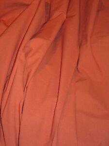 Coupon-tissu-coton-orange-brulee-2m30-x-145-de-large