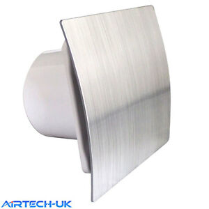 Image Is Loading Bathroom Extractor Fan 100mm 4 034 With Timer