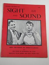 Sight and Sound Magazine: Judy Garland; the Musical in Pictures- October 1954
