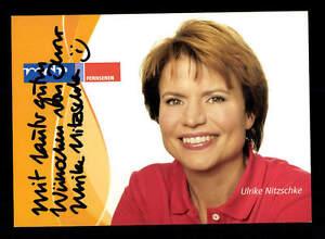 Hilfreich Ulrike Nitzschke Autogrammkarte Original Signiert # Bc 86895 Sammeln & Seltenes