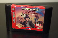 Instruments of Chaos Starring Young Indiana Jones (Sega Genesis, 1994) *Tested