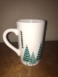 Starbucks-2017-Holiday-Christmas-Green-Tree-Tall-Coffee-Mug-Tea-Cup-17-8-oz