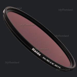 82mm-Haida-Slim-Pro-II-MC-ND0-9-8x-ND8-Neutral-Density-Grey-Filter-Grau-HD2017
