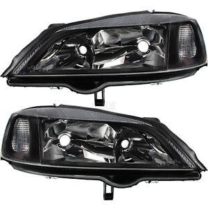 Juego-FAROS-frase-negro-Opel-Astra-G-ano-98-09-h7-hb3-para-electrico-LWR