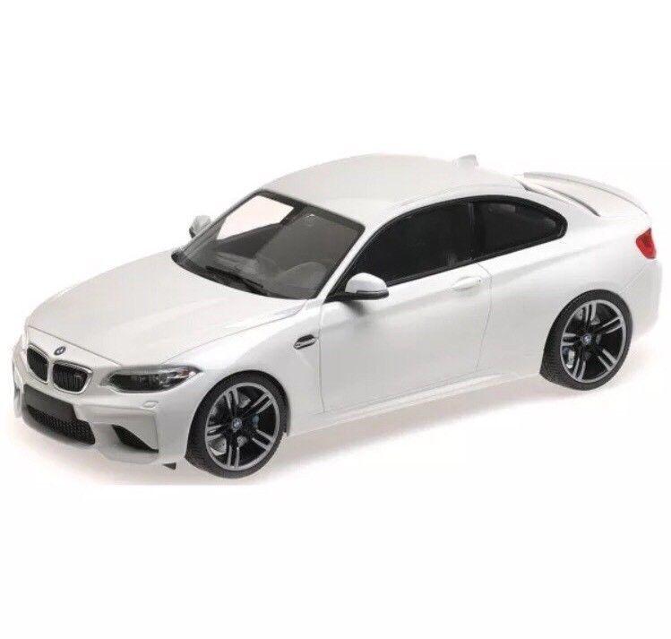 Minichamps 2016 BMW M2 Coupé (F87) blancoo Edición Limitada de 300 1 18New  muy limitado
