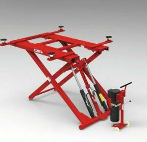 Brand New 6,000 Lbs. Low-Rise Portable Scissor Lift for Cars- PS-28 Canada Preview