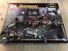 LEGO BATMAN 'ARKHAM ASYLUM' #7785 ALL 7 MINIFIGURES RARE 100% COMPLETE