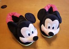 3f01a660d Disney And Pixar Happy Feet Slippers Xl mens size 9 to 13 Mickey Mouse