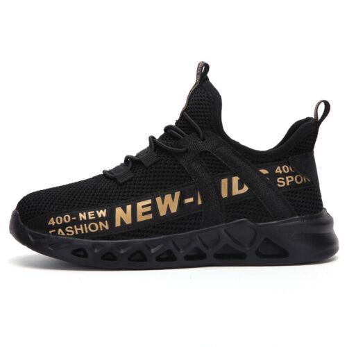 Kids Sneakers Boys Girls Mesh Shoes Lightweight Outdoor Running Sport Non-Slip