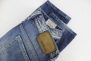 DIESEL-THAVAR-slim-skinny-008QL-Uomini-W29-L32-con-effetto-invecchiato-effetto-dissolvenza-Jeans
