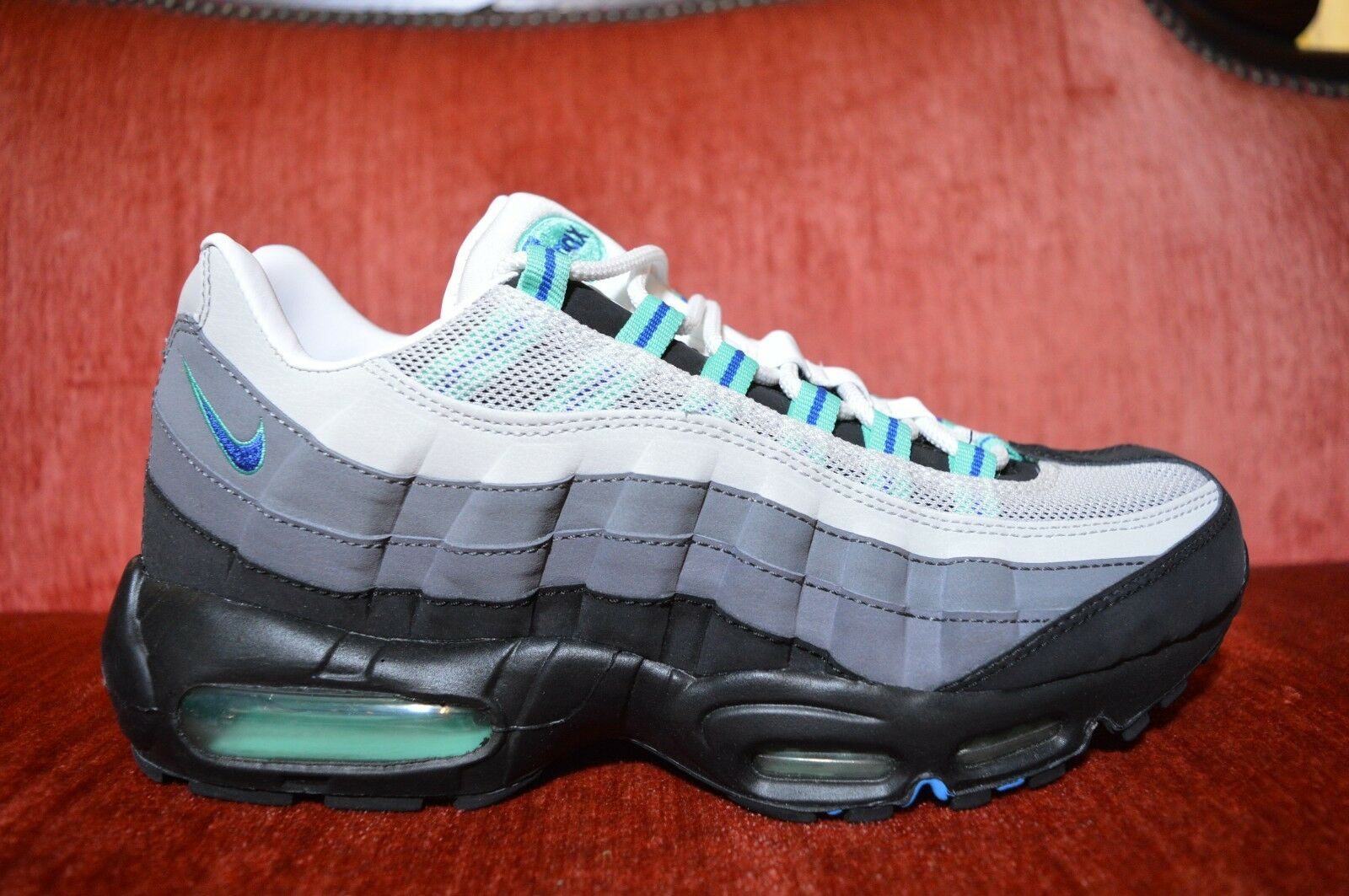 RARE Nike Air Max 95 SI JD Sports Exclusive 329393-006 Size 8 DS bluee White
