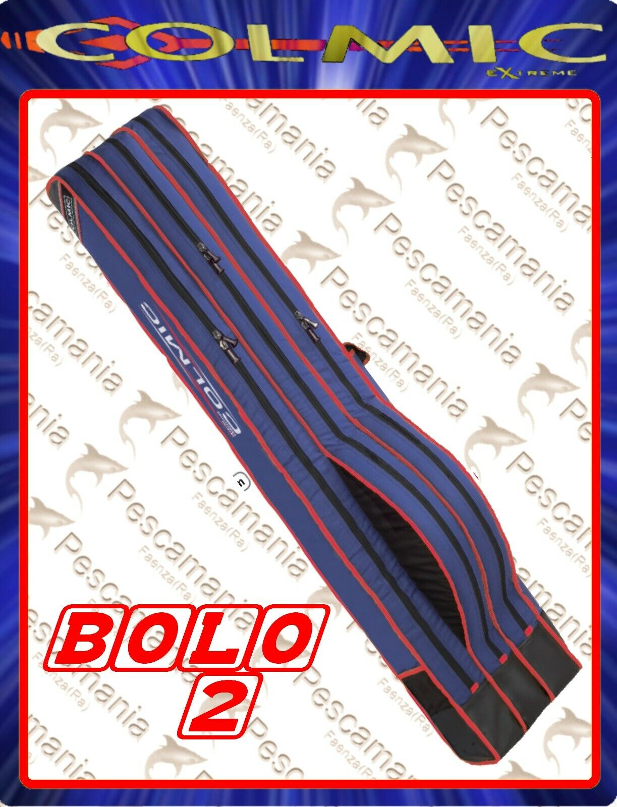 Fodero portacanna Colmic Extreme Competition Bolo 2 rosso Series