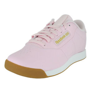 dab70bec71f Image is loading REEBOK-PRINCESS-PINK-WHITE-GOLD-METAL-BS7755-WOMENS-