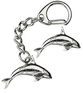 Orca-Whale-Key-ring-And-Pin-Badge-Boxed-Gift-Set-Handcrafted-In-Pewter