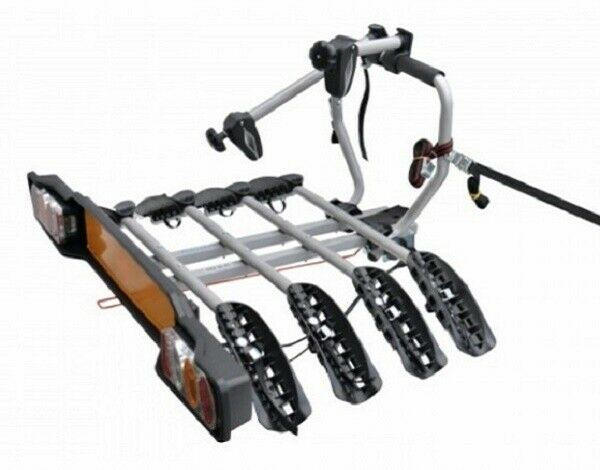 Peruzzo Siena 4 Pliable Porte-vélos pour Attelage de remorque 4 Vélos