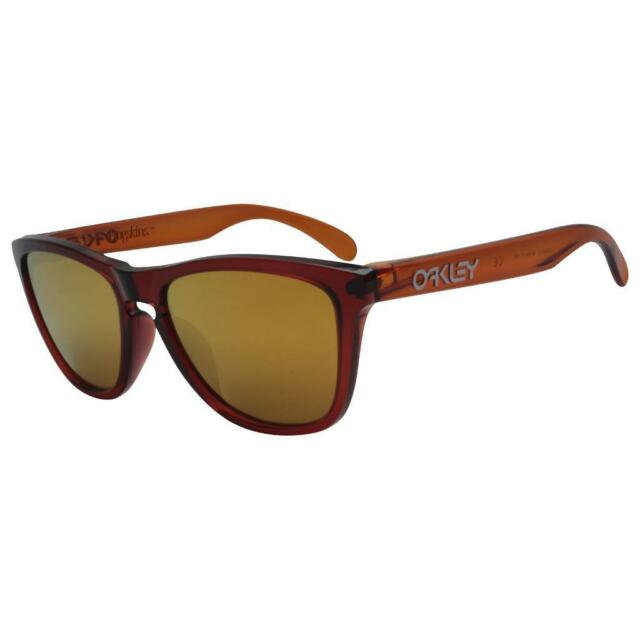 20732ad5f51 Oakley OO 9245-12 Moto Collection Frogskins Nitrous 24k Iridium Sunglasses  for sale online