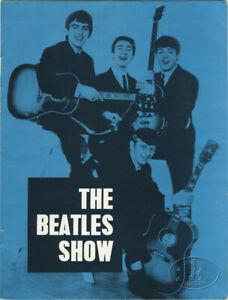 BEATLES-1963-UK-Tour-Concert-Program-Tour-Book-Gaumont-Bournemouth