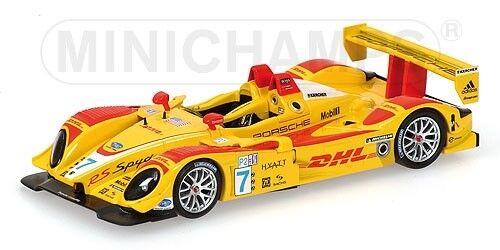 Porsche Rs Spyder Winners Mid Ohio 2007 1 43 Model MINICHAMPS