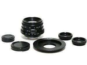 Fujian-35mm-F-1-6-APS-C-CCTV-Cine-Lens-C-EOS-C-Mount-to-Canon-EF-7D-20D-5D