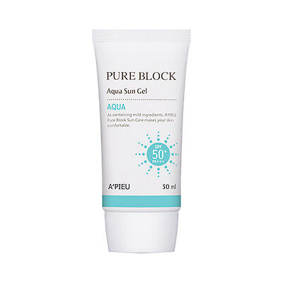 [A'PIEU] Pure Block Aqua Sun Gel - 50ml (SPF50+PA+++)