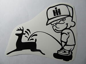 INTERNATIONAL-HARVESTER-tractor-pull-decal-SCOUT-trailer-mower-STICKER-emblem