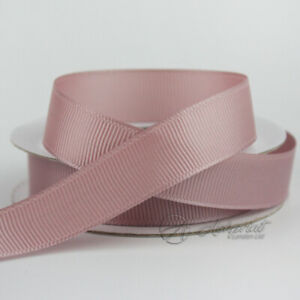 10m-Taupe-Grosgrain-Ribbon-10mm-16mm-25mm-38mm-CG