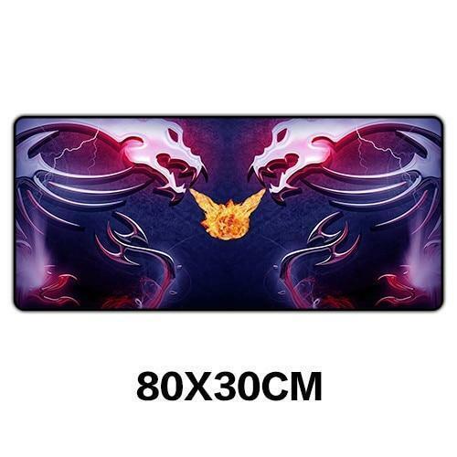 msi Dragon Logo Gaming Computer Mouse Pad