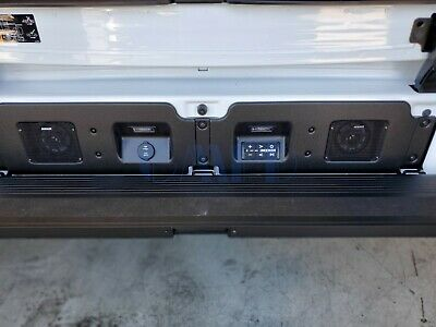 2019 2020 Gmc Sierra 1500 Multipro Tailgate Kicker Speaker System Gm Oe 19417163 Ebay