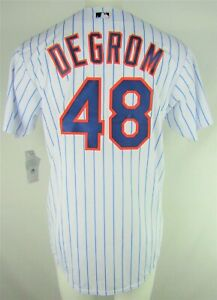 New-York-Mets-MLB-Majestic-Mens-48-deGrom-White-Big-amp-Tall-Coolbase-Team-Jersey