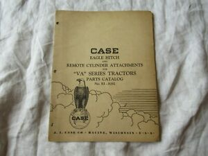 Case-eagle-hitch-remote-cylinder-attachments-parts-catalog-for-VA-tractor