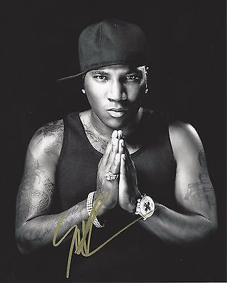 Hustlerz Ambition Bracing Up The Whole System And Strengthening It Rock & Pop Selfless Rapper Young Jeezy Signed 8x10 Photo B W/coa Tm 103