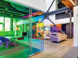 Auto-Adhesivo-Dicroica-De-Cambio-De-Color-Arco-Iris-Coloridas-color-pelicula-de-la-ventana