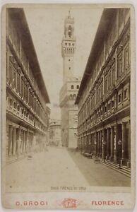 Italia Florence Uffici Foto PL17c1n27 Cartolina Armadio Vintage Albumina